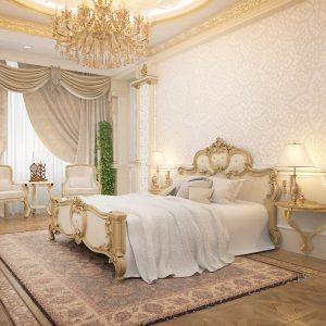 Апартаменты в ЖК Карвен на 300 кв м в барочной классике