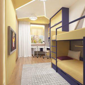 Апартаменты в стиле контемпорари на 180 кв м