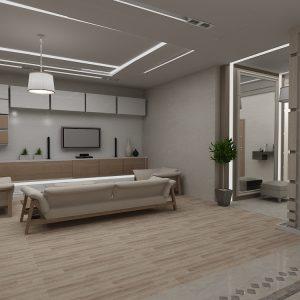 Апартаменты в современном стиле на 155 кв м