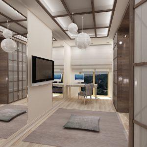 Комната для йоги