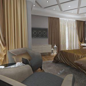 Апартаменты в стиле эклектики на 180 кв м в ЖК Версаль