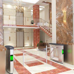 Холл офиса компании Бишкекпетролиум