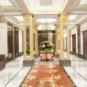 Холл 10 этажа