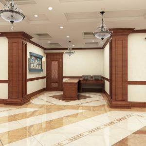Холл типового этажа