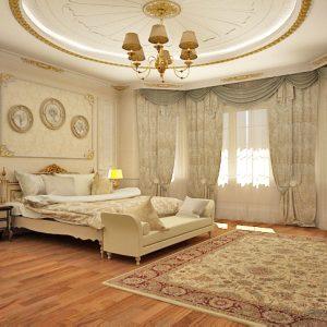 Особняк на 650 кв м в стиле барокко