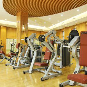 Фитнес-зал отеля Орион Бишкек