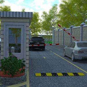 Пропускная система коттеджного городка Ала-Арча 1 и 2