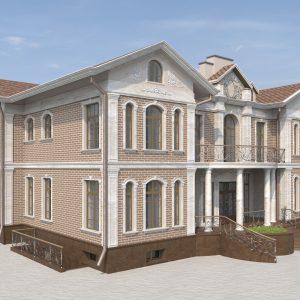 коттедж на 900 квм с гостевым домом на 180квм