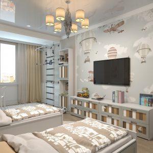 апартаменты на 300 квм в неоклассике