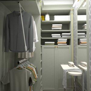 """Квартира в классическом стиле площадью 150 кв м в ЖК """"Панфилов"""""""