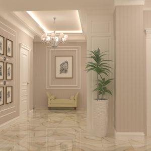 """Квартира в классическом стиле площадью 150 кв м в ЖК """"Фрунзе"""""""