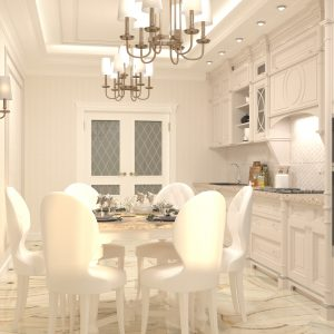 Квартира в классическом стиле площадью 150 кв м в ЖК «Фрунзе»