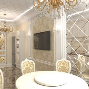 Квартира площадью 200 кв м в жилом комплексе «Асыл-Таш»