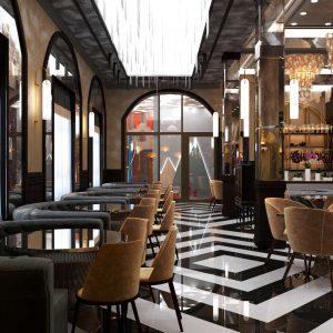 Ресторан по ул. Медерова Dalida Hall
