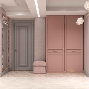 Дизайн студии площадью 61 квм