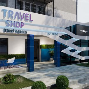 Фасад для Тур  Агенства