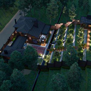 Индивидуальный жилой дом 190 кв.м.