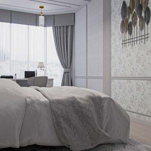 """квартира с стиле неоклассика 143квм. в ЖК """"Монако"""""""