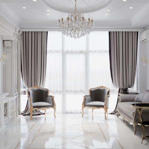 Квартира в классическом стиле на 200 квм